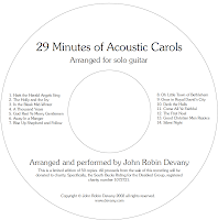 29 Minutes of Acoustic Carols
